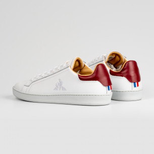 ADIDAS CONTINENTAL 80 J CLOUD WHITE / SCARLET / COLLEGIATE NAVY